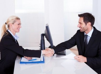 milwaukee recruiters shaking hands